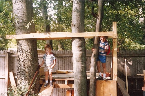 The beginning of my love affair with porches