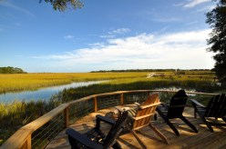 Porch on the marsh