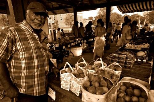 Produce at Mt. Pleasant Farmers Market