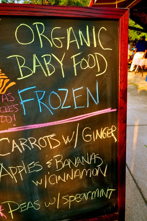 Baby Food at Farmers Market SC