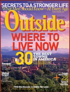 Outside Magazine Cover 2011