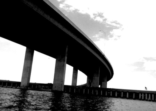 Bridge over Charleston Harbor