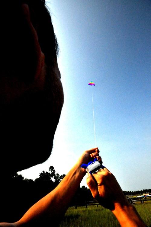 Kite flying in Charleston