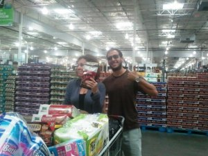 This is not at Lowe's, and was not taken last night