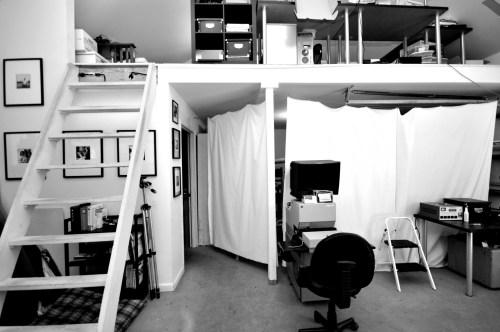 photo lab and dark room