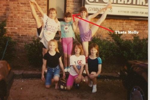 Gymnasts circa 1980