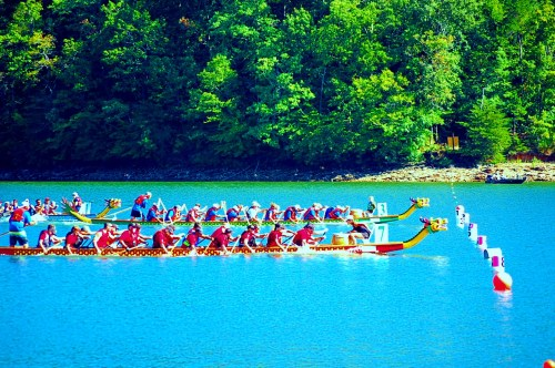 Dragonboat Finish