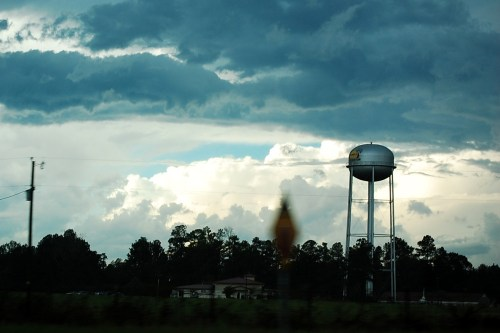 Lonely water tower