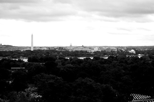 Washington Monument and Lincoln Memorial from Arlington