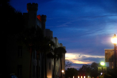 Nightime on the Citadel Campus