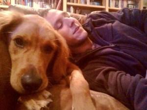 Love a dog!