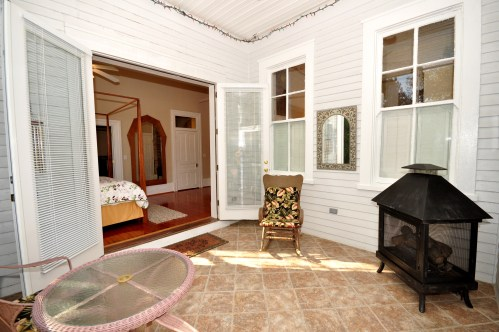 1714 Middle Street - Master Bedroom Porch