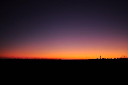 Sullivans Island sinks into night
