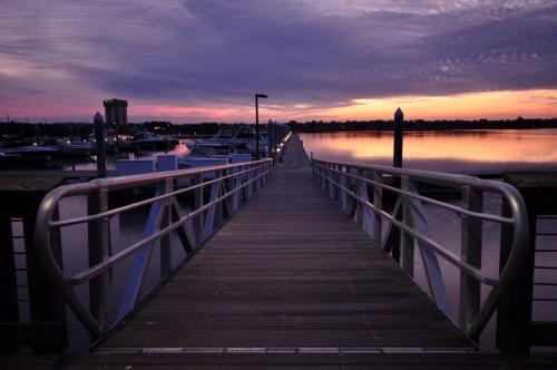 I walk the dock
