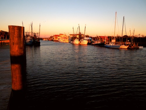 Shem Creek from Fishermen Loading Zone