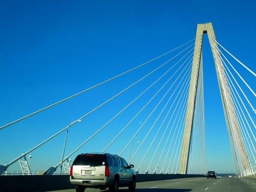 Cooper River Bridge up close
