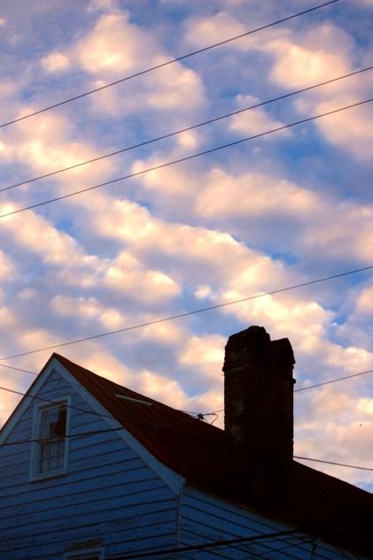 Puff Clouds Puffing