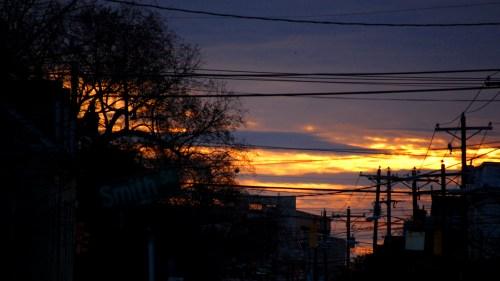 Sunset on Smith